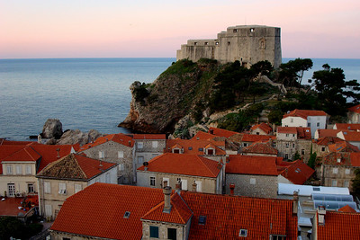Sunrise - Dubrovnik, Croatia ... April 29, 2008 ... Photo by Emily Page