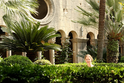 Emily in the Franciscan Monastery - Dubrovnik, Croatia ... May 1, 2008 ... Photo by Rob Page III