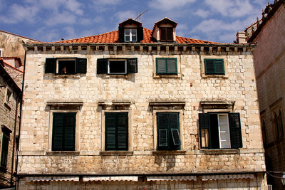 A building along the Stradun - Dubrovnik, Croatia ... May 1, 2008 ... Photo by Rob Page III