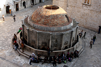 Onofrio's Fountain.  Built in 1438 and still working - Dubrovnik, Croatia ... May 1, 2008 ... Photo by Rob Page III
