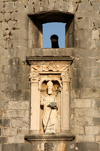 St. Balaise looks over the city - Dubrovnik, Croatia ... May 1, 2008 ... Photo by Rob Page III