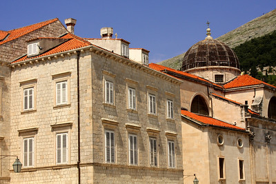 The back of St. Blaise Church - Dubrovnik, Croatia ... May 1, 2008 ... Photo by Rob Page III
