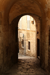 An archway - Dubrovnik, Croatia ... May 1, 2008 ... Photo by Rob Page III