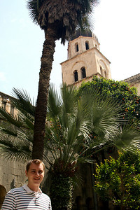 Rob at the Franciscan Monastery - Dubrovnik, Croatia ... May 1, 2008 ... Photo by Emily Page