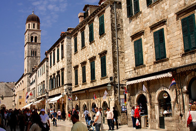 The Stradun - Dubrovnik, Croatia ... May 1, 2008 ... Photo by Rob Page III