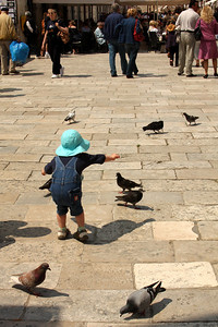 A child playing on the street - Dubrovnik, Croatia ... May 1, 2008 ... Photo by Emily Page