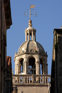 The top of St. Mark's Cathedral - Korcula, Croatia ... May 2, 2008 ... Photo by Rob Page III