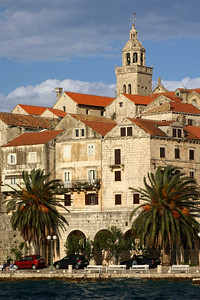 St. Mark's Cathedral looks over the town - Korcula, Croatia ... May 3, 2008 ... Photo by Rob Page III