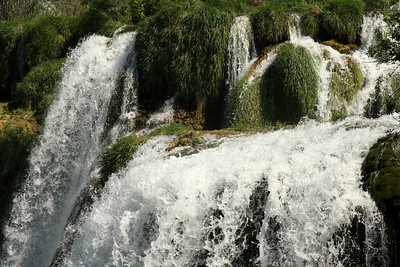 Furious water flows by - Krka N.P., Croatia ... May 8, 2008 ... Photo by Rob Page III