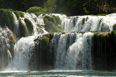 The base of Skradinski Buk - Krka N.P., Croatia ... May 8, 2008 ... Photo by Rob Page III
