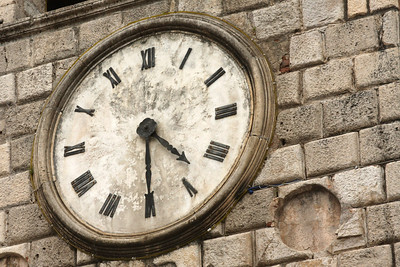 An old clocktower - Kotor, Montenegro ... April 30, 2008 ... Photo by Rob Page III