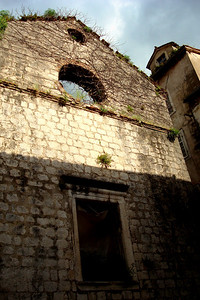 An old, abandoned church - Kotor, Montenegro ... April 30, 2008 ... Photo by Emily Page