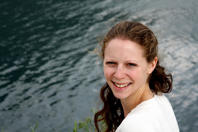Emily along the Kotor Bay - Herceg Novi, Montenegro ... April 30, 2008 ... Photo by Rob Page III