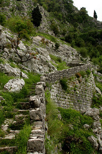 Heading up the path - Kotor, Montenegro ... April 30, 2008 ... Photo by Rob Page III