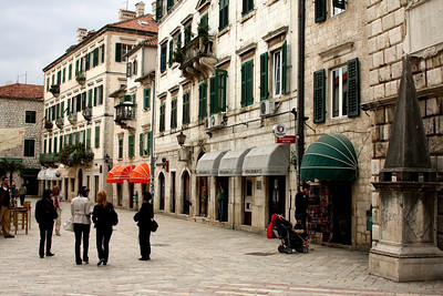 The streets - Kotor, Montenegro ... April 30, 2008 ... Photo by Rob Page III