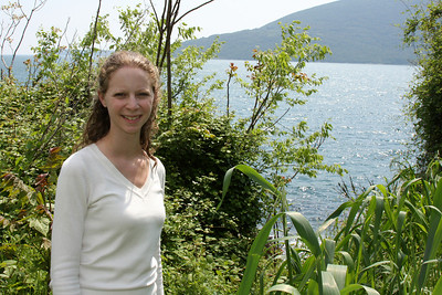 Emily down along the waterfront - Herceg Novi, Montenegro ... April 30, 2008 ... Photo by Rob Page III
