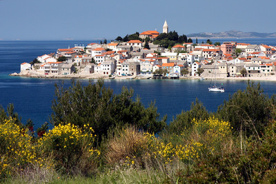 The town of Primosten juts out into the Adriatic - Primosten, Croatia ... May 8, 2008 ... Photo by Rob Page III