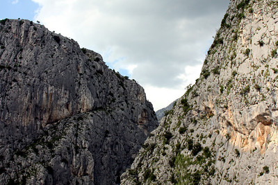 The steep canyons of Omis, a town south of Split along the coast - Omis, Croatia ... May 7, 2008 ... Photo by Rob Page III