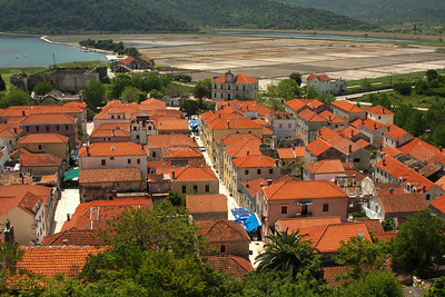 The town of Ston.  It is an important salt producing area - Ston, Croatia ... May 2, 2008 ... Photo by Rob Page III