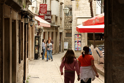 The streets of Trogir - Trogir, Croatia ... May 5, 2008 ... Photo by Rob Page III