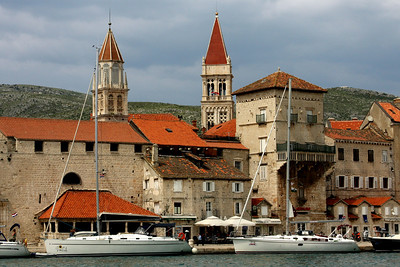 The waterfront - Trogir, Croatia ... May 5, 2008 ... Photo by Rob Page III