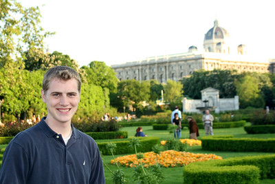 Rob and the Austrian natural history museum - Vienna, Austria ... May 9, 2008 ... Photo by Emily Page