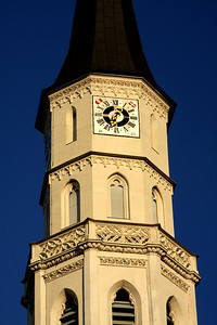 Michaelerkirche.  This is an 8 century old Romanesque church in Central Vienna.  It has remained unchanged since 1792 - Vienna, Austria ... May 9, 2008 ... Photo by Rob Page III
