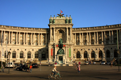 Looking across Heldenplatz - Vienna, Austria ... May 9, 2008 ... Photo by Rob Page III