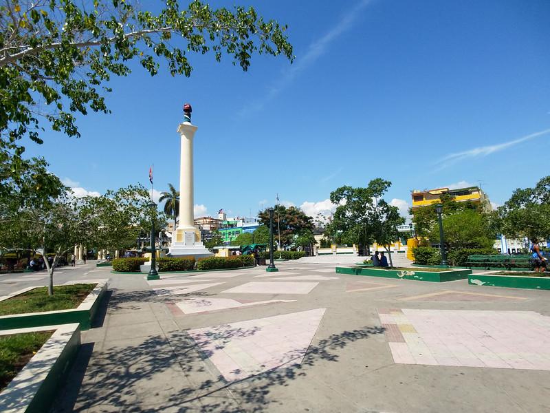 Siempre Heroica dedication in Santiago de Cuba.