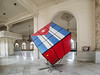 Rubic's cube of the Cuban Flag in the National Theatre.