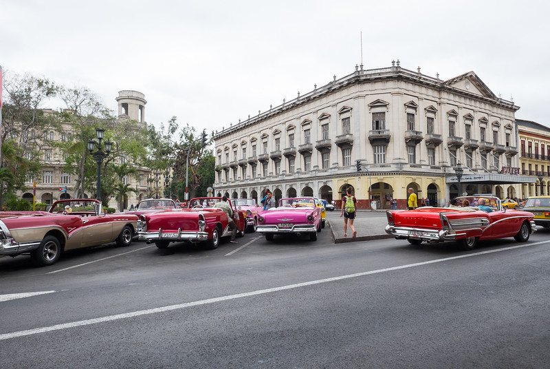 Classic cars on the streets of Havana.