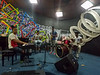 Jazz group playing at lunch in Santiago de Cuba
