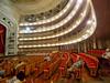 Inside the National Theatre in Havana.