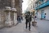 Bronze statue of Francis Assisi in Havana