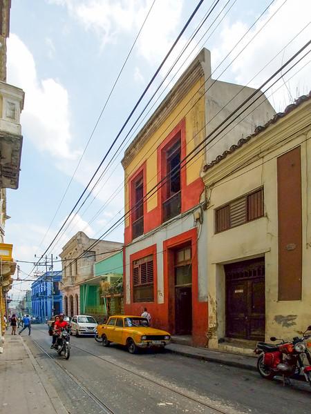 Streets of Santiago de Cuba.