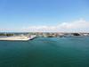 Moving to dock in Cienfuegos, Cuba.