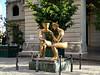Havana street sculpture at the Plaza de San Francisco de Asis