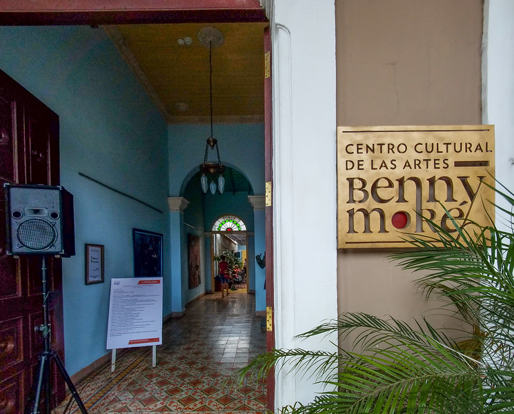 Dedication to the great Cuban Musician, Benny More in Cienfuegos, Cuba.