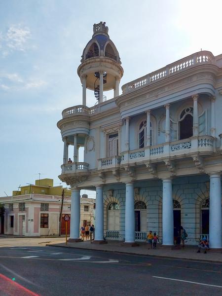 Observation tower across from Jose Marti Park in Cienfuegos, Cuba.  3 CUCs.