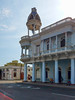 Observation tower across from Jose Marti Park in Cienfuegos, Cuba.  3 CUCs.