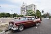 Classic cars in Havana, Cuba.
