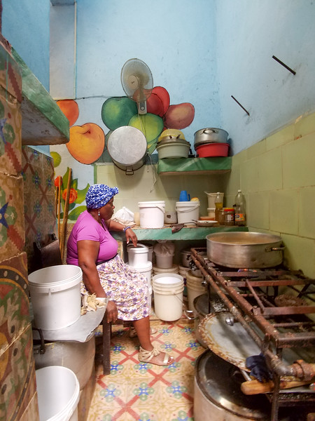 In a Havana Community Center for Seniors.