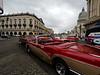 Classic cars in Cienfuegos, Cuba.