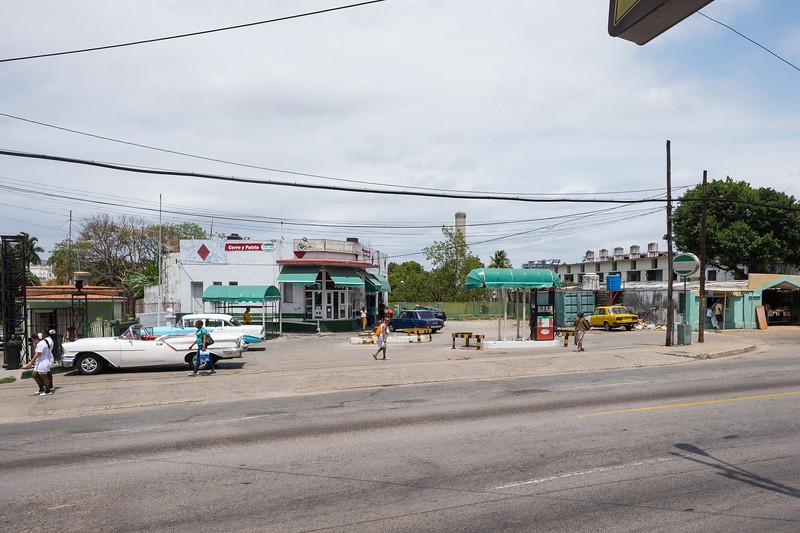 The streets of Havana.