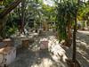 Bodega del Valle outdoor resturant area in Cienfuegos, Cuba.