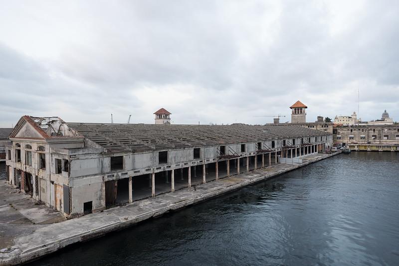 Terminals in Havana's Harbor.