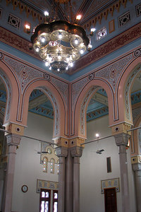 Inside the Jumeirah Mosque - Dubai, UAE ... November 19, 2006 ... Photo by Rob Page III