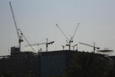 The giant construction site that is Dubai - Dubai, UAE ... November 19, 2006 ... Photo by Rob Page III