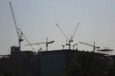 The giant construction site that is Dubai - Dubai, UAE ... November 19, 2006 ... Photo by Rob Page III