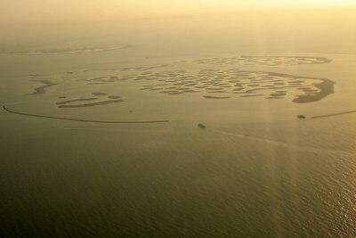 The world takes shape off the coast of Dubai - Dubai, UAE ... November 19, 2006 ... Photo by Rob Page III